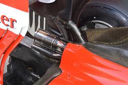 Ferrari SF16-H exhaust detail