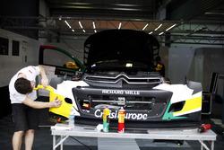 El coche de Mehdi Bennani, Sébastien Loeb Racing, Citroën C-Elysée WTCC