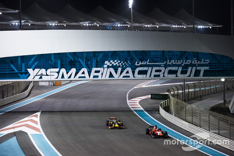 Nabil Jeffri, Arden International & Antonio Giovinazzi, PREMA Racing