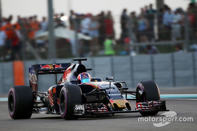 22 місце - Данііл Квят, Scuderia Toro Rosso STR11. Умовний бал - 2,246