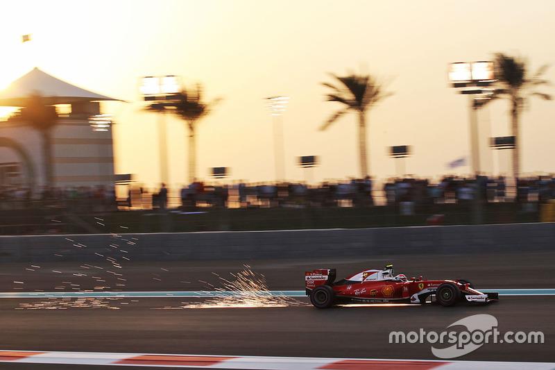 4: Kimi Raikkonen, Ferrari SF16-H