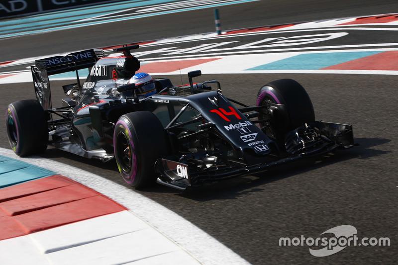Fernando Alonso, McLaren MP4/31 (2016)
