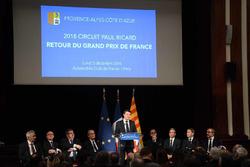 Christian Estrosi, president of the Provence-Alpes-Côte d'Azur region speaks