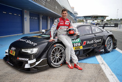 Loic Duval, Audi RS 5 DTM Test Car