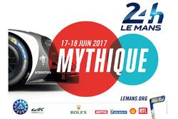 2017 Le Mans 24 Saat poster