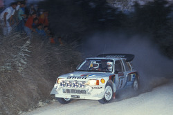 Bruno Saby, Jean-François Fauchille, Peugeot 205 Turbo 16 Evo 2