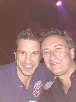 Marco Parroni avec Alejandro Agag