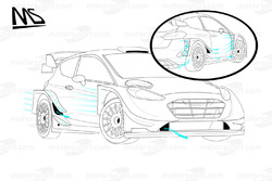 Présentation de la Ford Fiesta WRC 2017