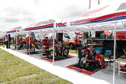Zona de Monster Energy Honda Team