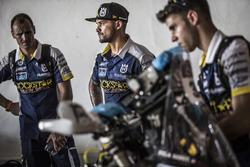 Pablo Quintanilla, Husqvarna Factory Racing con mecánicos