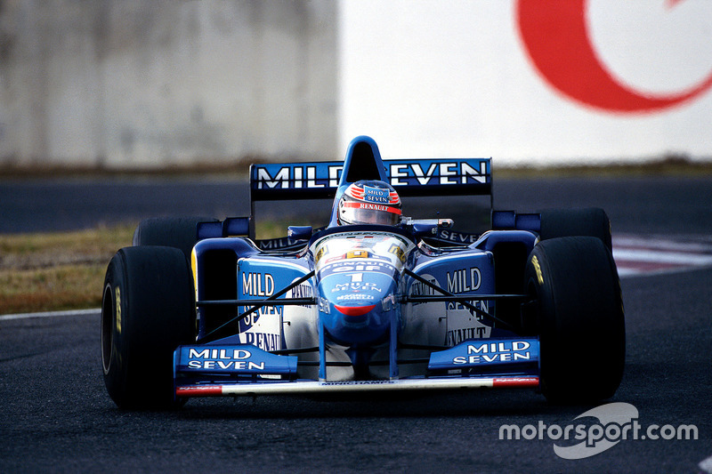 10. Japón 1995, Benetton B195