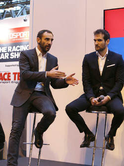 Cyril Abiteboul, Gerente director de Renault Sport F1 Team, Tommaso Volpe, Infiniti Global Director de Motorsport