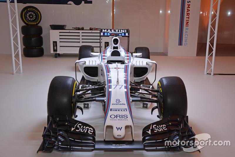Williams Martini Racing bracht ook een recente F1-wagen mee