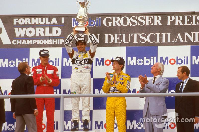10. Nelson Piquet: 60 podios (28,98%)