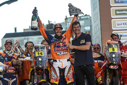 Le vainqueur Sam Sunderland, Red Bull KTM Factory Racing