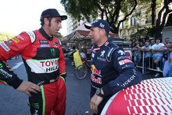 Nani Roma, Overdrive Racing; Stéphane Peterhansel, Peugeot Sport