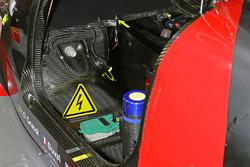 #8 Audi Sport Team Joest Audi R18 detalle de la cabina