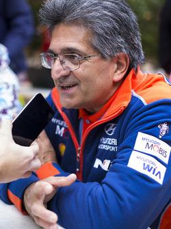 Michel Nandan, director del equipo Hyundai Motorsport