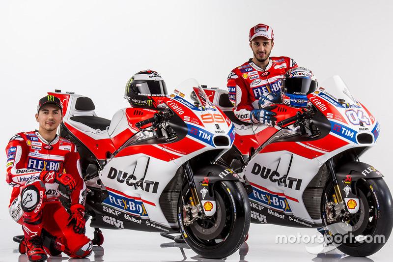 Jorge Lorenzo, Andrea Dovizioso, Ducati Team