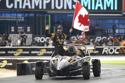 James Hinchcliffe and Stefan Rzadzinski, Team RoC Factor Canada