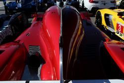 Detalle del #55 Mazda Motorsports Mazda DPi: Jonathan Bomarito, Tristan Nunez, Spencer Pigot