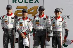 2. GTD, #29 Montaplast by Land-Motorsport Audi R8 LMS GT3: Connor de Phillippi, Christopher Mies, Jules Gounon, Jeffrey Schmidt