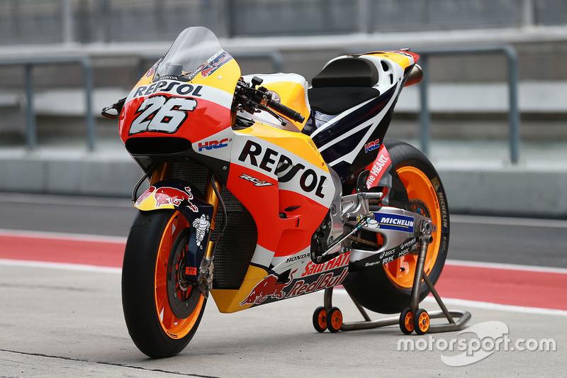 Мотоцикл Дані Педроси, Repsol Honda Team