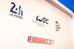 24 Hours of Le Mans, World Endurance Championship, European Le Mans Series logos