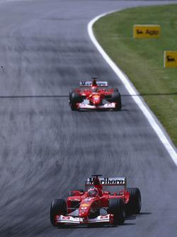 Rubens Barrichello, Ferrari, Michael Schumacher, Ferrari