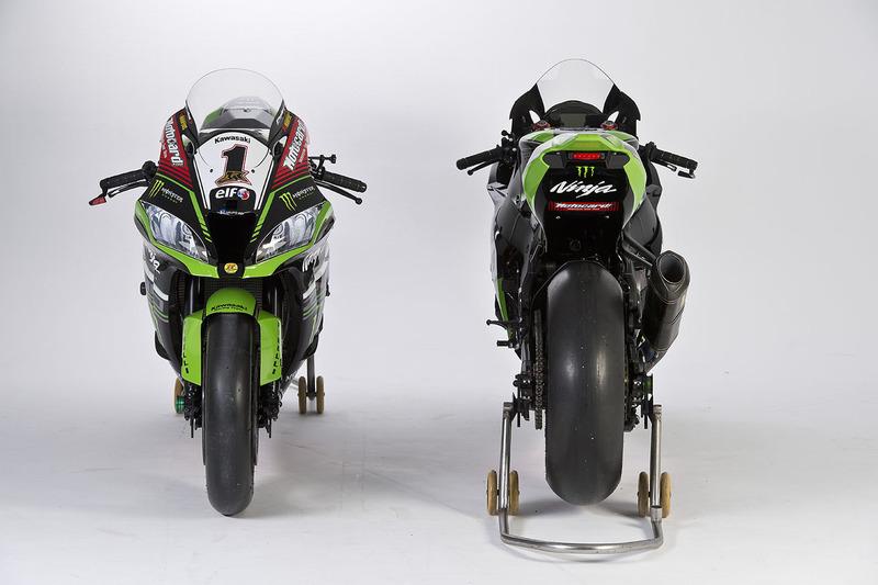 Les motos de Jonathan Rea et Tom Sykes