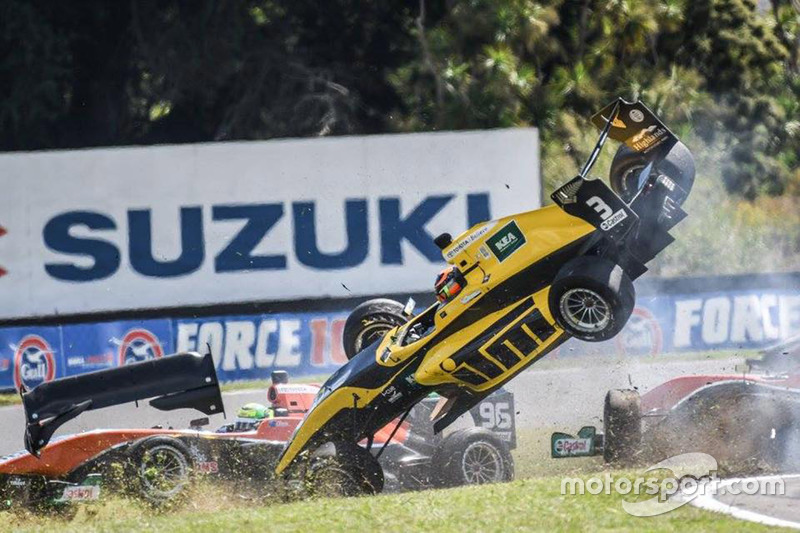 Accident pour Brendon Leitch
