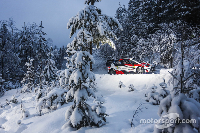 Juho Hänninen, Kaj Lindström, Toyota Yaris WRC