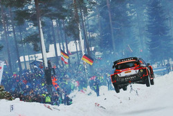 Mads Östberg, Ola Floene, Ford Fiesta WRC, M-Sport