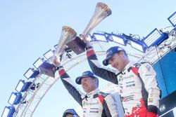 Les vainqueurs Jari-Matti Latvala, Miikka Anttila, Toyota Yaris WRC, Toyota Racing