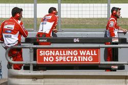 Teammitglieder von Ducati