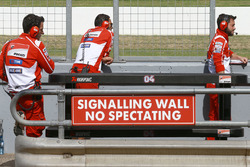 Miembros del equipo Ducati