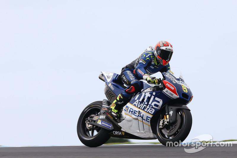 19 місце — Ектор Барбера (Іспанія, Ducati GP16) — коефіцієнт 301,00