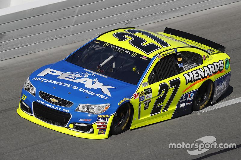 33. Paul Menard, Richard Childress Racing, Chevrolet