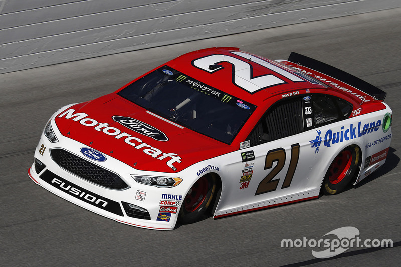 36. Ryan Blaney, Wood Brothers Racing, Ford