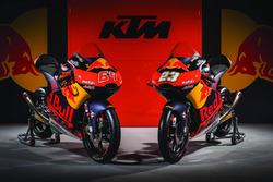 Bike von Niccolo Antonelli, Red Bull KTM Ajo; Bo Bendsneyder, Red Bull KTM Ajo