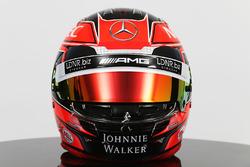 Il casco di Esteban Ocon, Sahara Force India F1 Team