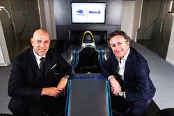 Jean-Marc Pailhol, Allianz SE Head of Group Market Management & Distribution, Alejandro Agag, Formula E CEO
