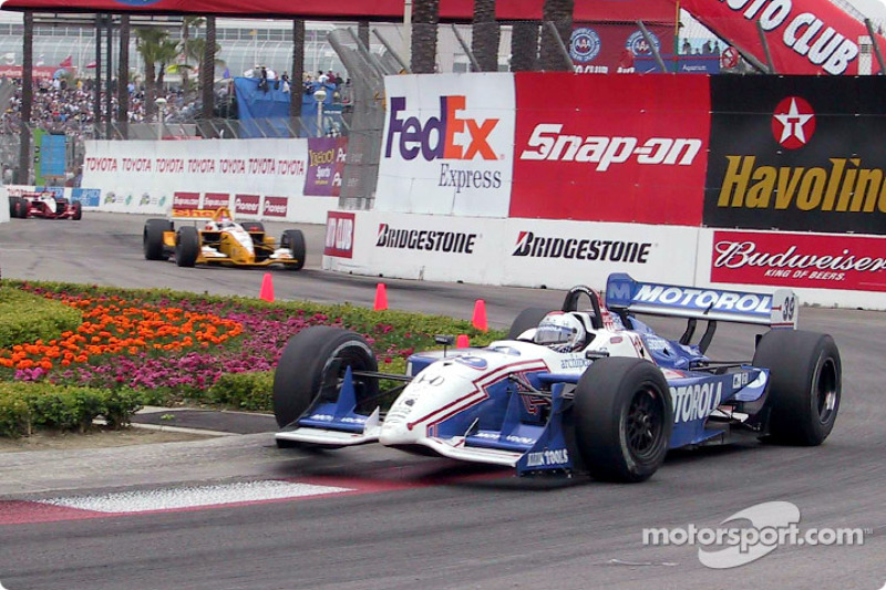 In the 2002 GP of Long Beach, Michael Andretti scored the 42nd and last win of his Indy car career.