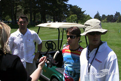Golf tournament: Max Papis and Michel Jourdain Jr.