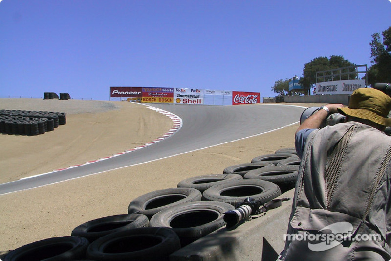 Starting the afternoon session at the Corkscrew