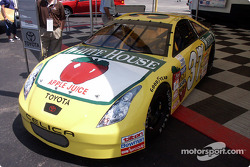 Huffman's NASCAR GoodysDash car