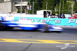 Michael Andretti en image floutée
