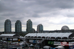 Vancouver paddock before the race