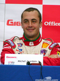 Press conference: Michel Jourdain Jr.