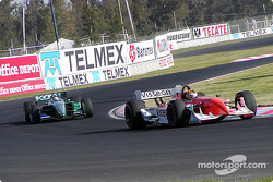 Oriol Servia and Paul Tracy